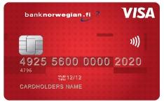 Hae Bank Norwegian luottokortti jo tänään!
