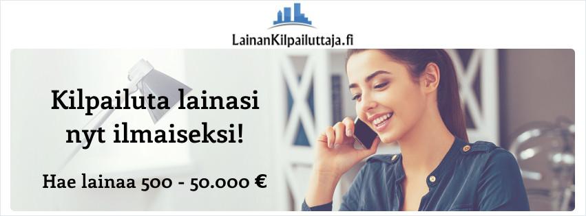 LainanKilpailuttaja.fi lainahakemus on kaikille maksuton!