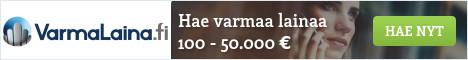VarmaLainaa 100 - 50.000 euroa.