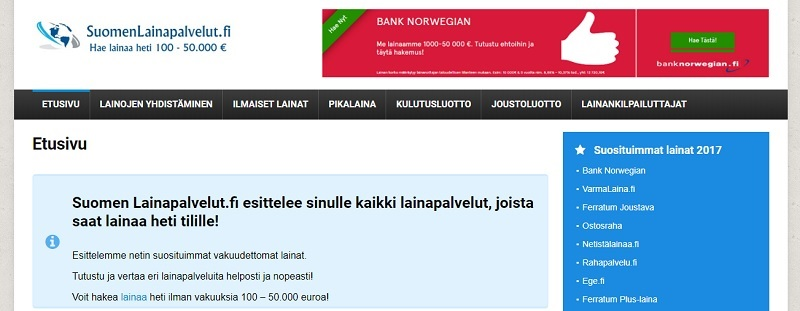 SuomenLainapalvelut.fi
