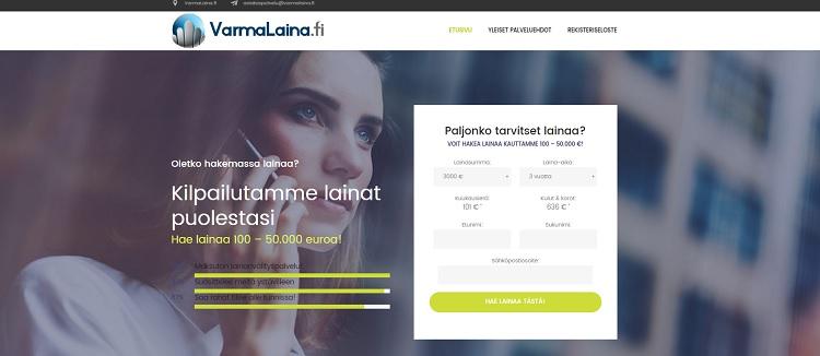 VarmaLaina.fi kilpailuttaa lainan puolestasi -ilmaiseksi!