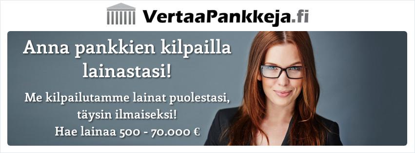 Vertaa pankkeja!
