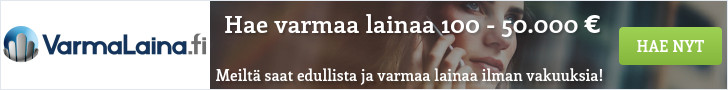 Hae lainaa VarmaLaina.fi palvelusta!