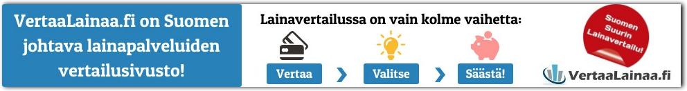 Lainaa nopeasti Vertaalainaa.fi palvelusta