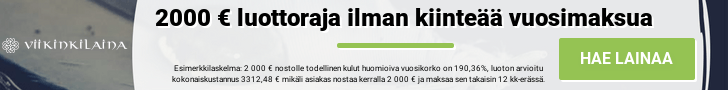 Viikinkilaina.fi Hae lainaa tästä
