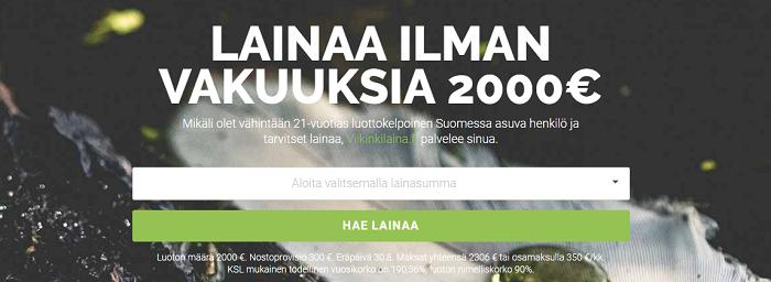 Viikinkilaina.fi Hae lainaa ilman vakuuksia